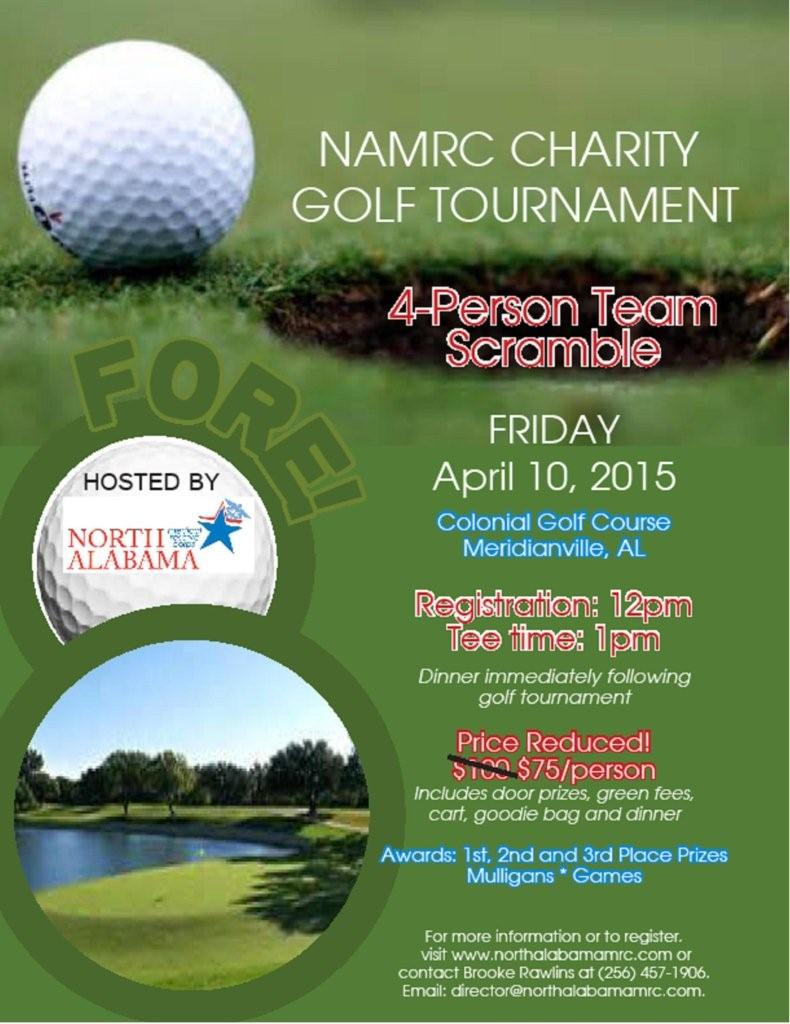 Charity Golf Event Brochure Template Design  StockLayouts