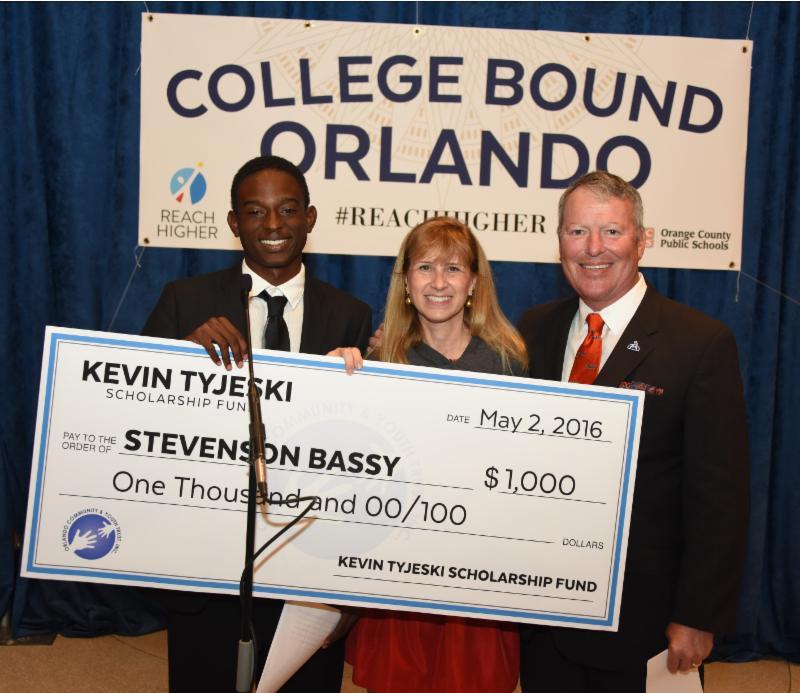 Stevenson Bassy, Lisa Early, Orlando Mayor Buddy Dyer