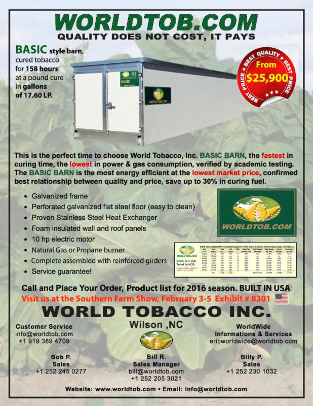WORLD TOBACCO