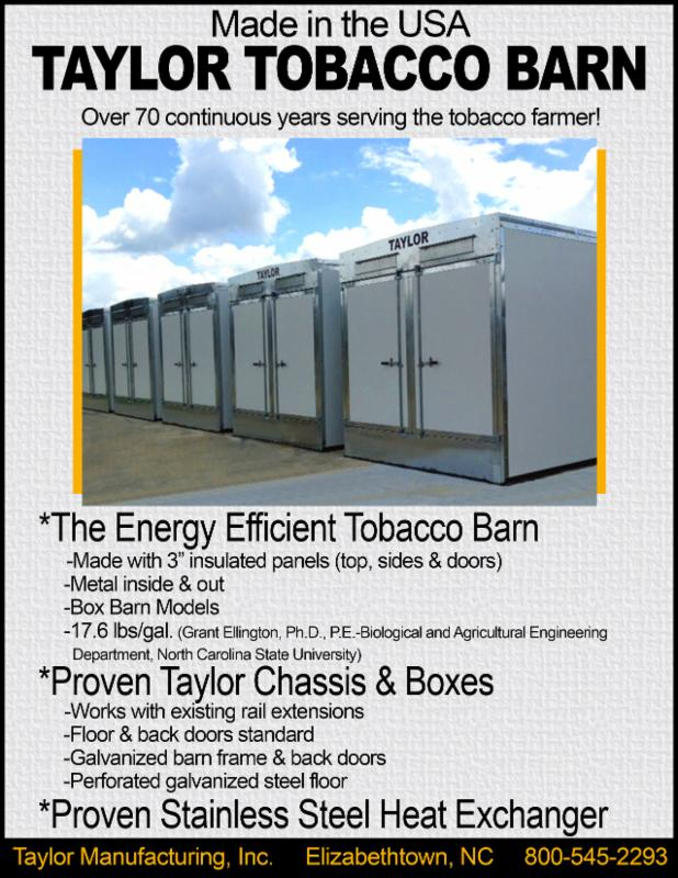 Tobacco Farmer Newsletter: April 2015