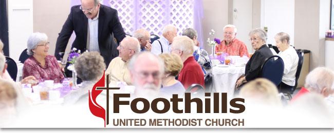 ... of the Foothills 50+ anniversary luncheon was held last week