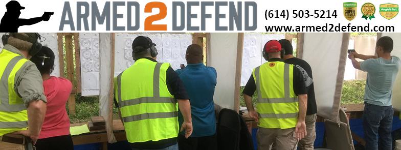 Armed2Defend Ohio CCW Training