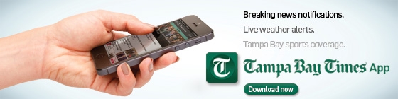 Tampa Bay Times App ad