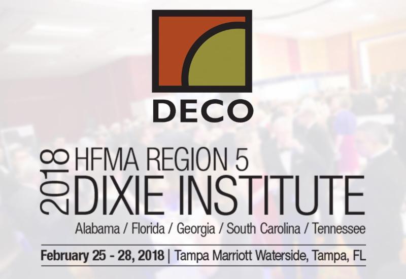 HFMA Dixie Institute 2018 @ Tampa Marriott Waterside Hotel & Marina
