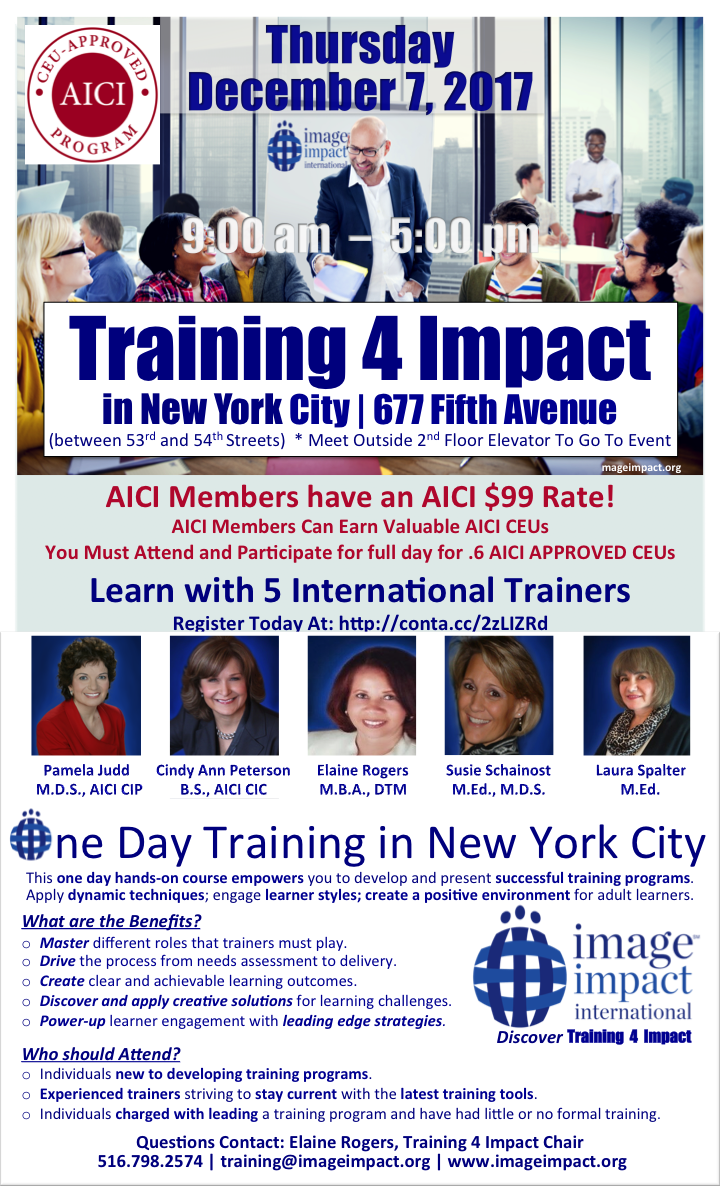 AICI CEU Approved T4I One Day