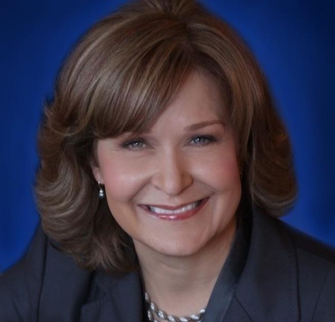 Blue Background photo for Cindy Ann Peterson - Board - VP Communications