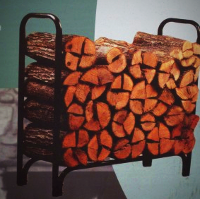 fire log rack