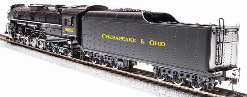 Broadway Limited Imports New C&O T-1 & PRR J1 2-10-4s