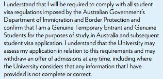 Genuine Temporary Entrant Requirement For Student Visas Australia Visa