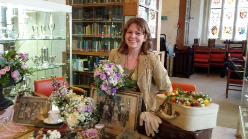 Spring Flowers for Mothers Day at Bedern Hall