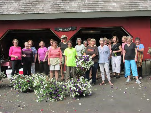 Hanging Basket Workshop 2015