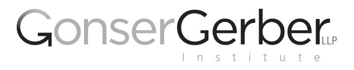 Gonser Gerber Institute Logo