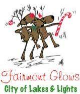 Fairmont Glows Dancing Reindeer