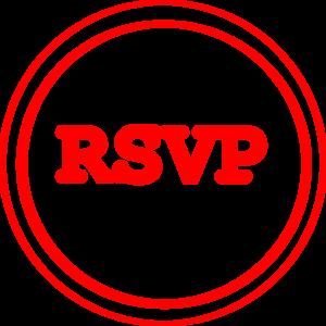 RVSP round button