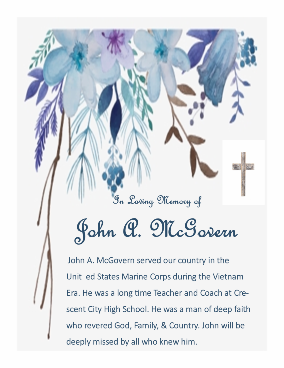 John A. McGovern Memorial.png