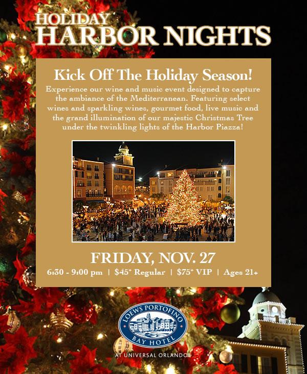 Holiday Harbor Nights at Loews Portofino Bay Hotel