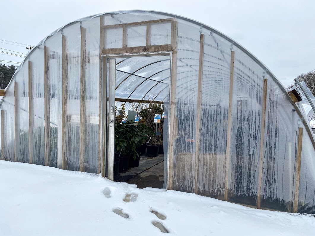 Front retail hoop house