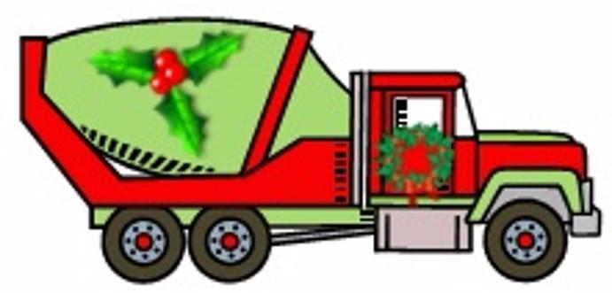 Holiday Concrete Truck