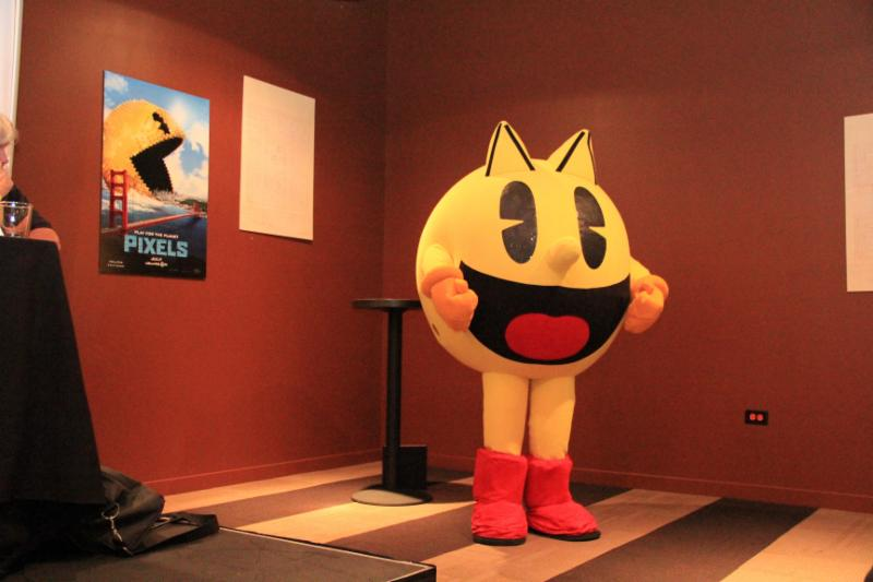 PAC-MAN at his 35th Birthday Party