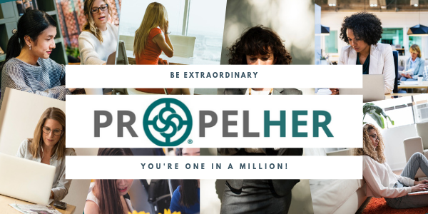 PropelHER 2019 email header