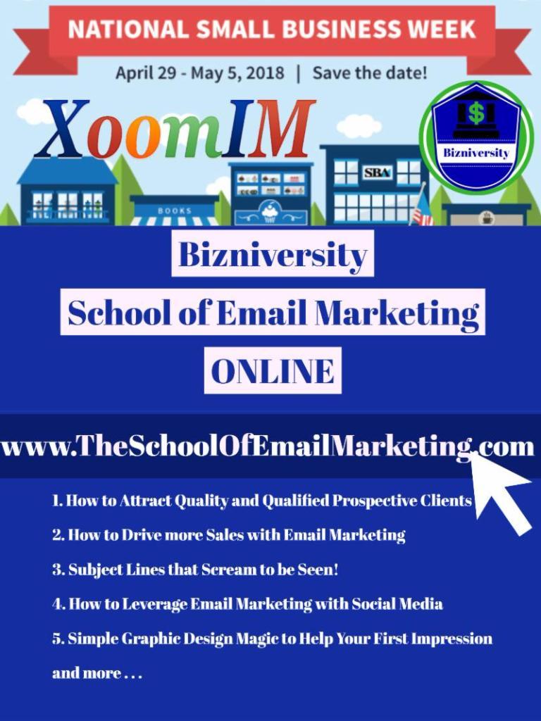 Bizniversity-SchoolOfEmailMarketing-Online-Flyer