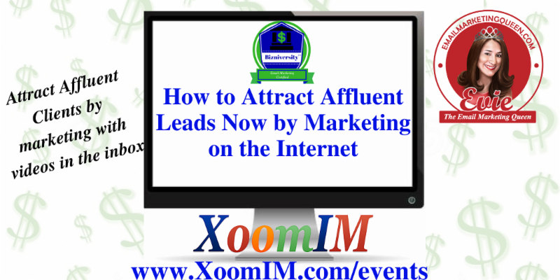 Attract Affluent Leads Now by Marketing