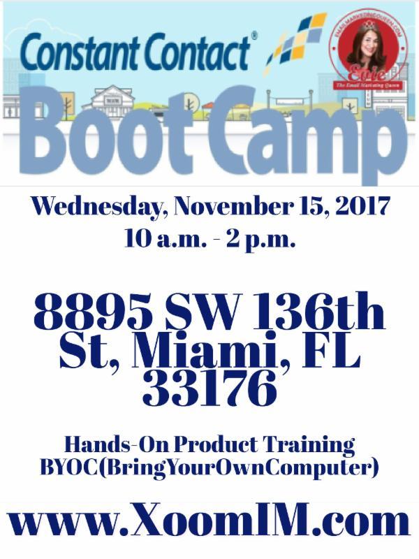 CTCT-Nov152017-BootCamp