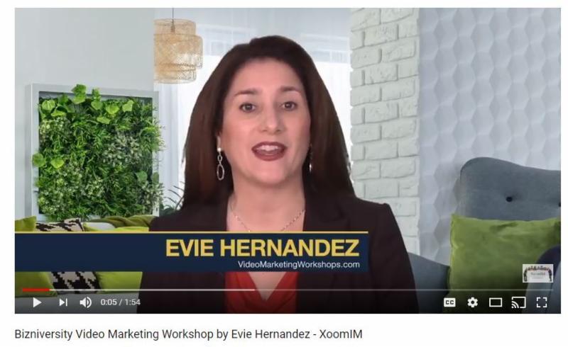XoomIM-Evie-Video-Marketing-Workshop