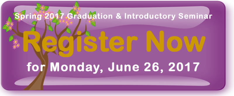 Register Now for Spring 2017 Graduation