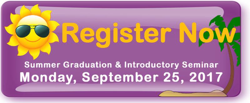 Register Now for Monday September 25