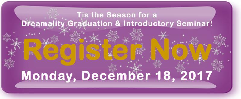 Register Now for Monday December 18