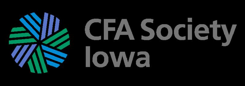 CFA Society Iowa logo