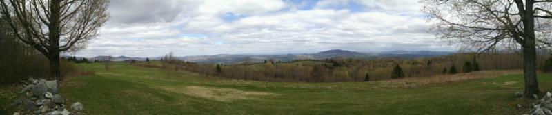 Topsham Farm view