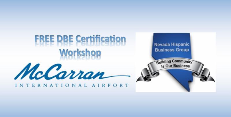 Free Dbe Certification Workshop