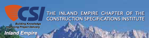 Inland Empire Chapter of the Construction Specifications Institute