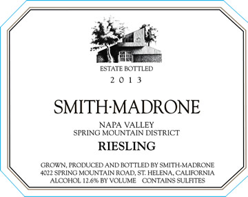 Label Riesling 2013