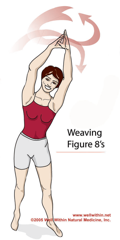 Weaving Figure 8's