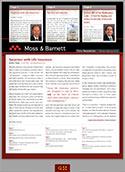 Firm Newsletter Magazine TMB