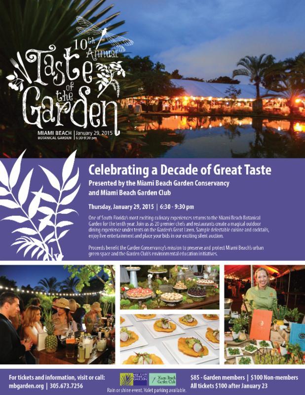 Taste Of The Garden 2015