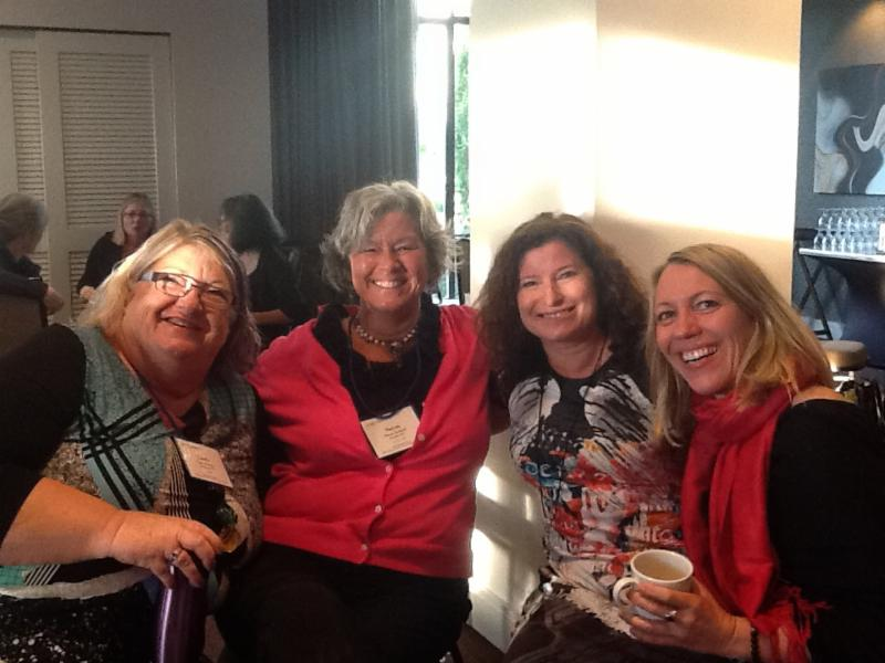 Linda Stearns, Carol Farauto and Mona Meyer joined me at CAIET