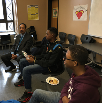 Students at Burke HS attend mentoring program