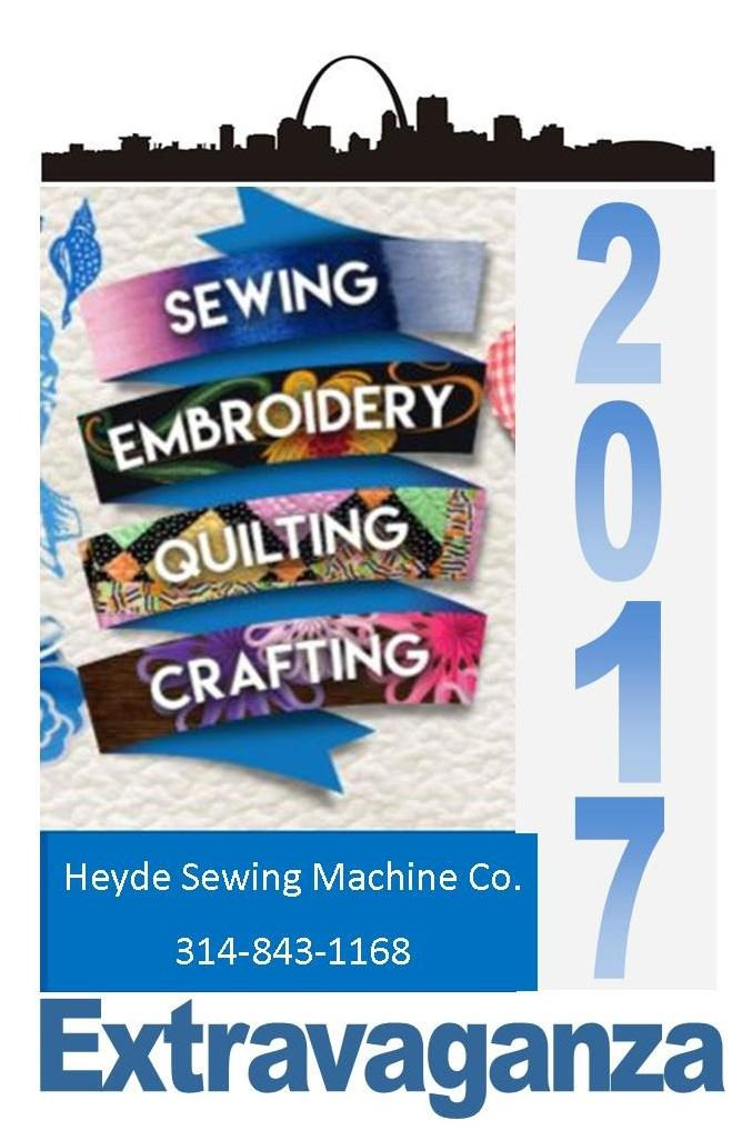 40 SEQC Extravaganza Sewing Embroidery Quilting Crafting Mesmerizing Heyde Sewing Machine