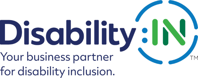 DisabilityIN logo with tagline Your business partner for disability inclusion