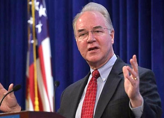 Tom Price HHS Secretary