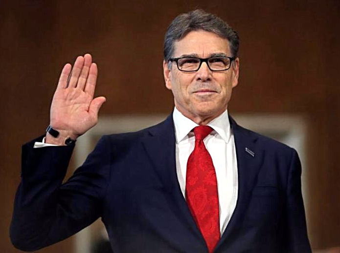 Rick Perry Confirmation