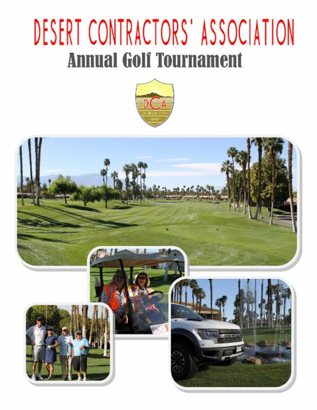 Your DCA Annual Golf Tournament 2015