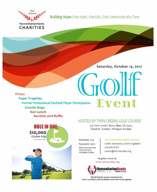 humanitarian hands 2nd annual golf tournament
