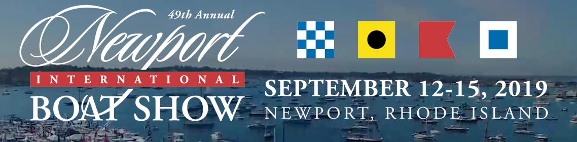 2019 Newport Boat Show Header