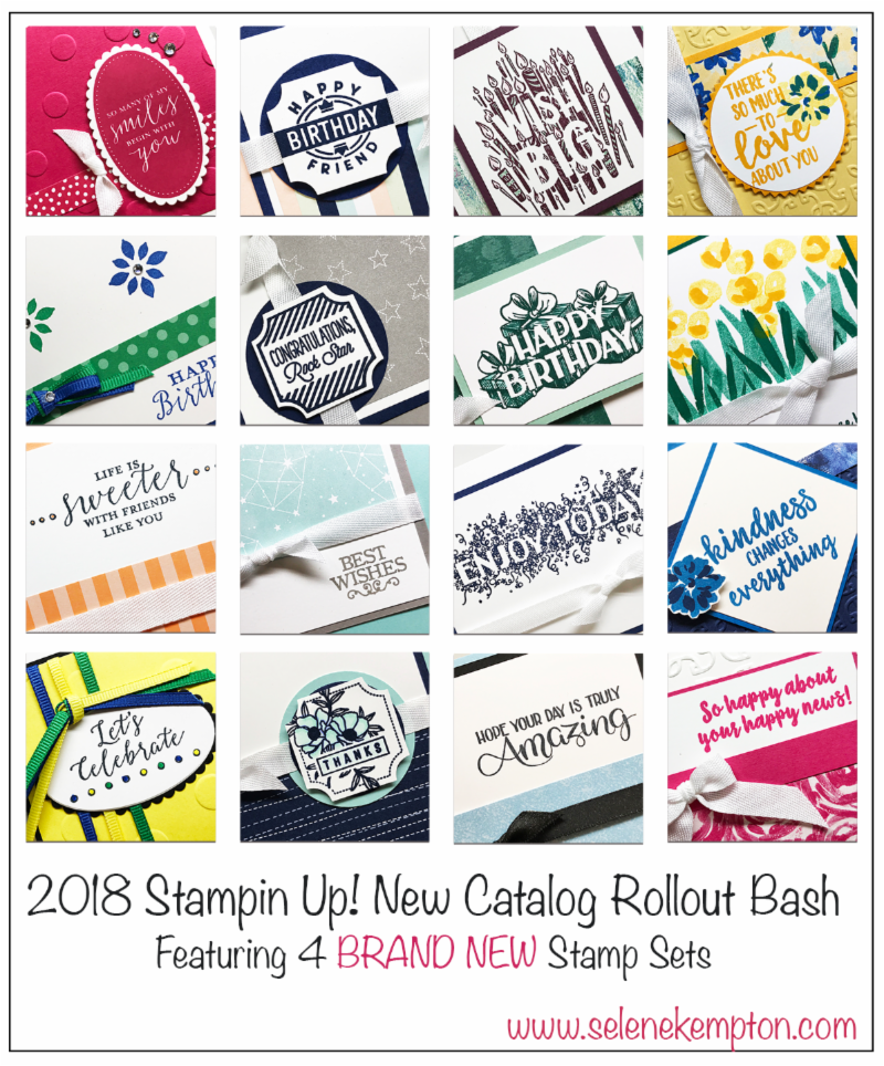 2018-2019 New Catalog Kickoff Party, Featuring 16 different projects!