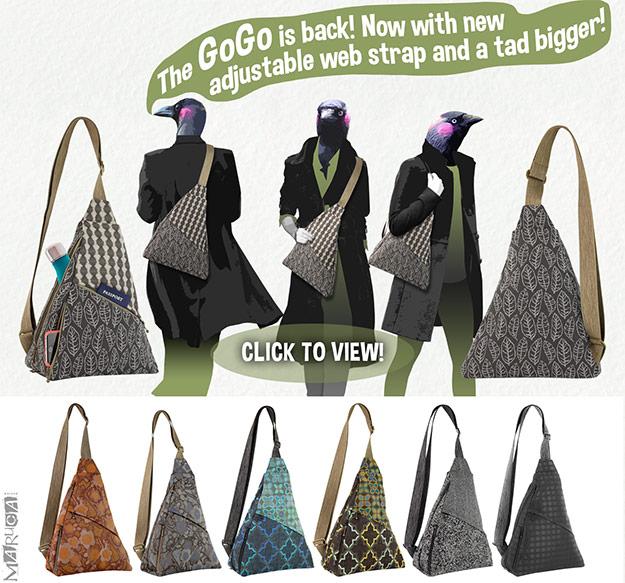 Maruca bags, textile bags, fabric handbags